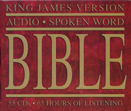 KJV Holy Bible on CD   -              Narrated By: Steven B. Stevens                   By: Narrated by Steven B. Stevens