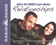 What The Bible Says About Relationships Audiobook on CD  -     Narrated By: Jill Shellabarger, Kelly Ryan Dolan