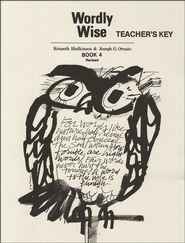 Wordly Wise, Book 4, Grade 7-Teacher's Key   -     By: Kenneth Hodkinson