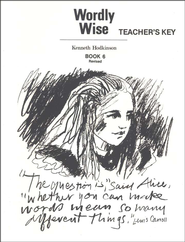 Wordly Wise, Book 6, Grade 9-Teacher's Key   -              By: Kenneth Hodkinson