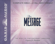 The Message, Complete Bible on MP3   -              By: Eugene H. Peterson