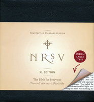 NRSV Bible XL, Black Imitation Leather   -
