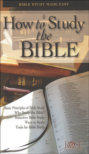 How to Study the Bible, Pamphlet   -
