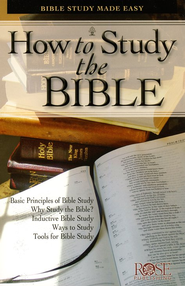 How to Study the Bible, Pamphlet, 10                 -