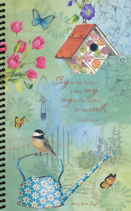 Garden Blooms, Deluxe Journal  -     By: Sandy Clough