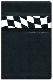 NIV Thinline Bible: Stock Car Edition, Italian Duo-Tone &#153, Black 1984  -