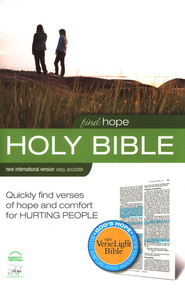 NIV VerseLight Bible, Hope Edition (1984)--hardcover   -
