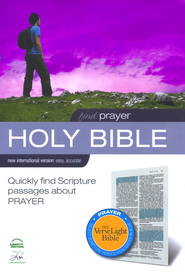 NIV VerseLight Bible: Find Prayer 1984  -