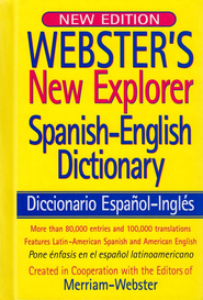 Webster's New Explorer Spanish-English Dictionary (New Edition)  -