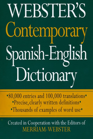 Webster's Contemporary Spanish-English Dictionary   -