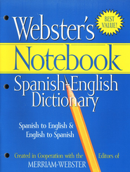 Webster's Notebook Spanish-English Dictionary   -