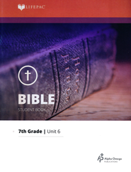 Lifepac Bible Grade 7 Unit 6: The Psalms   -