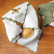 Give Us This Day, Bread Basket Liner   -