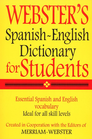 Webster's Spanish-English Dictionary for Students   -