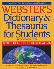 Webster's Dictionary & Thesaurus for Students: Completely Revised and Updated, Second Edition  -
