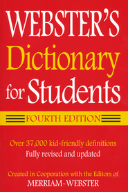 Webster's Dictionary for Students Fourth Edition   -
