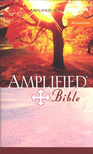 Amplified Bible, Mass paperback   -