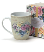 Among the Roses, Mug With Gift Box  -              By: Sandy Clough