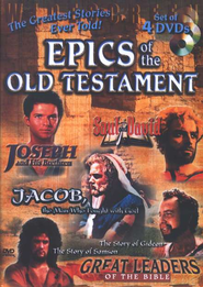 Epics of the Old Testament, 4-DVD Set   -