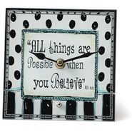 All Things Are Possible, Decorative Clock   -