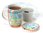 Friendship Porcelain Teacup Set   -