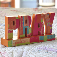 Pray, Tabletop Decoration  -