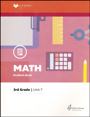 Grade 3 Math Lifepac 7: Add/Sub. of Mixed Numbers, Probability  -