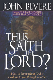 Thus Saith The Lord   -     By: John Bevere
