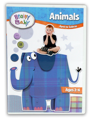 Animals DVD - Single  -     By: Brainy Baby