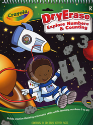 Explore Numbers & Counting Dry-Erase Tablet Grades K  -