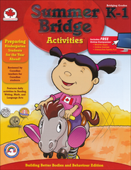 Summer Bridge Activities, Grade K-1 (Canadian Edition)  -