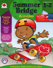 Summer Bridge Activities, Grades 1-2 (Canadian Edition)  -