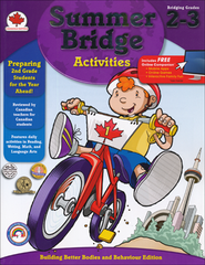Summer Bridge Activities, Grades 2-3 (Canadian Edition)  -