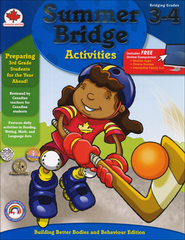 Summer Bridge Activities, Grades 3-4 (Canadian Edition)  -