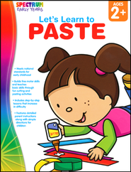 Spectrum Early Years Let's Learn to Paste  -