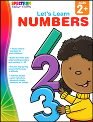 Spectrum Early Years Let's Learn Numbers  -