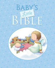 Baby's Little Bible - Blue  -     By: Sarah Toulmin