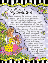 She Who Is My Little Girl Magnet  -