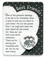 Best Friends Magnet  -