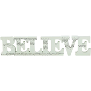 Believe Tabletop Decor  -