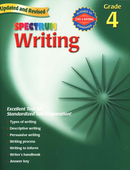 Spectrum Writing, 2007 Edition, Grade 4   -