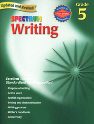 Spectrum Writing, 2007 Edition, Grade 5   -