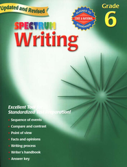 Spectrum Writing, 2007 Edition, Grade 6   -