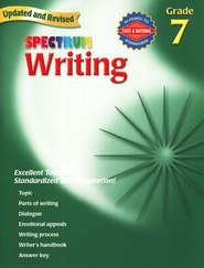 Spectrum Writing, 2007 Edition, Grade 7   -