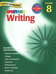 Spectrum Writing, 2007 Edition, Grade 8   -