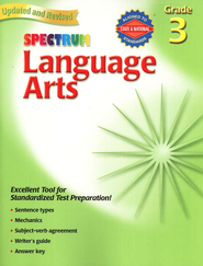 Spectrum Language Arts, 2007 Edition, Grade 3   -