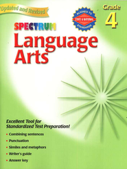 Spectrum Language Arts, 2007 Edition, Grade 4   -