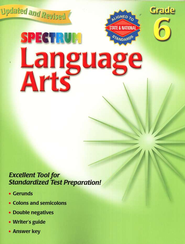 Spectrum Language Arts, 2007 Edition, Grade 6   -