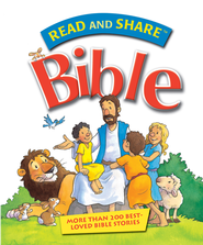 Read and Share Bible: Over 200 Best Loved Bible Stories - eBook  -     By: Gwen Ellis