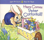 Here Comes Peter Cotton Tail! A Musical Board Book   -     By: Steve Nelson, Jack Rollins;     Illustrated By: Pamela R. Levy